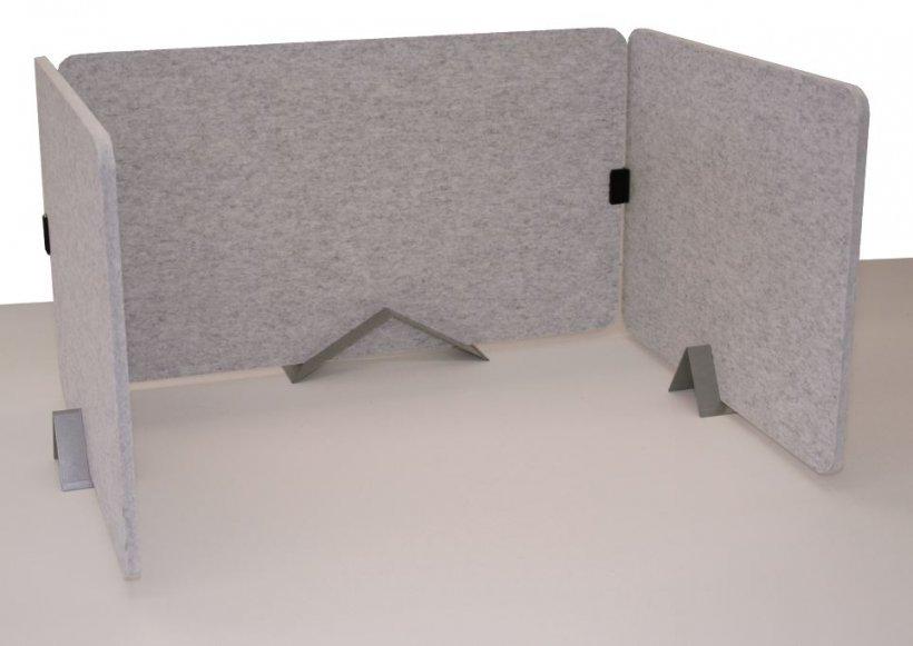 Akustikpaneele für den Schreibtisch von WEIGANG.
